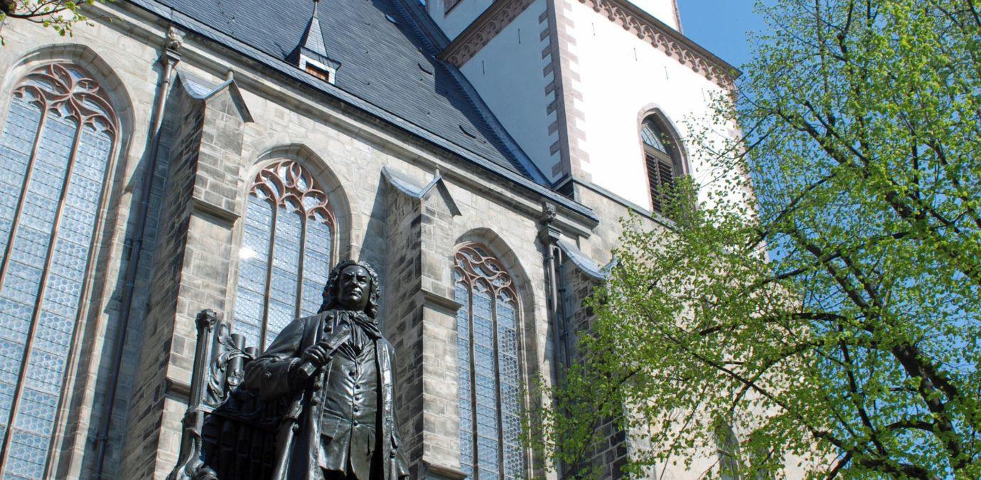 Bachdenkmal vor der Thomaskirche